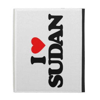 I LOVE SUDAN iPad CASE