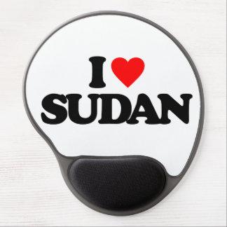 I LOVE SUDAN GEL MOUSE MAT