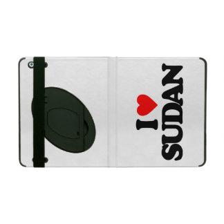 I LOVE SUDAN iPad FOLIO CASES