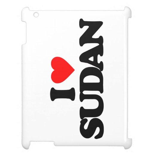 I LOVE SUDAN iPad COVERS
