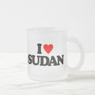 I LOVE SUDAN MUGS