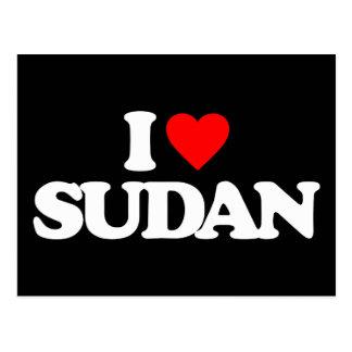 I LOVE SUDAN POSTCARD