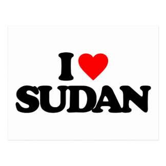 I LOVE SUDAN POST CARDS