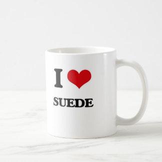 I love Suede Coffee Mug