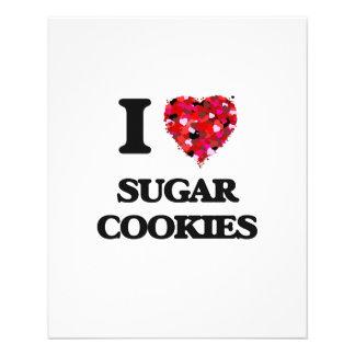I love Sugar Cookies 11.5 Cm X 14 Cm Flyer
