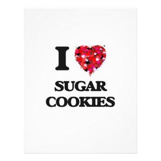 I love Sugar Cookies 21.5 Cm X 28 Cm Flyer