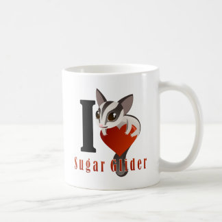 I Love Sugar Glider Coffee Mug