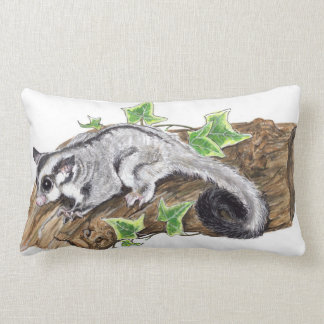 I Love Sugar Gliders Lumbar Cushion