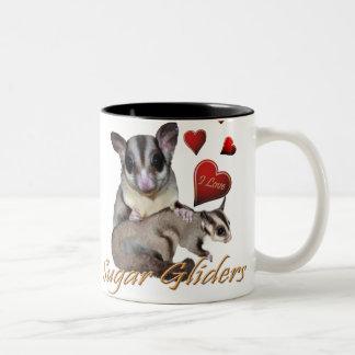 I Love Sugar Gliders Mugs