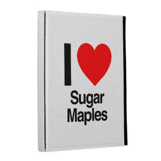 i love sugar maples iPad cases