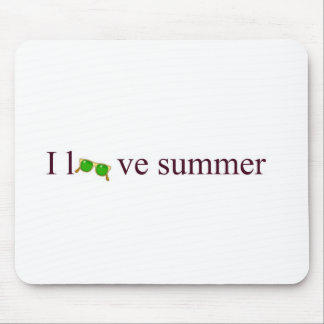 I love summer mouse pad