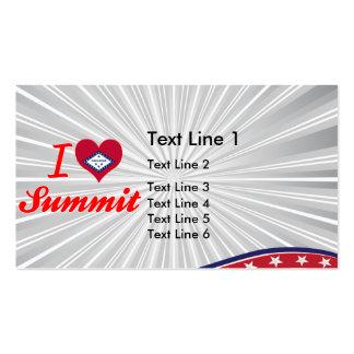 I Love Summit Arkansas Business Cards