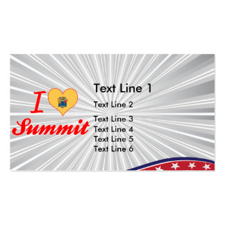 I Love Summit New Jersey Business Cards
