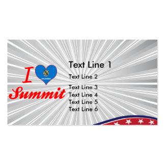 I Love Summit Oklahoma Business Card Templates