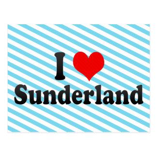 I Love Sunderland, United Kingdom Postcard