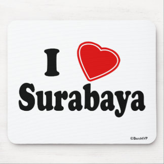 I Love Surabaya Mouse Pad