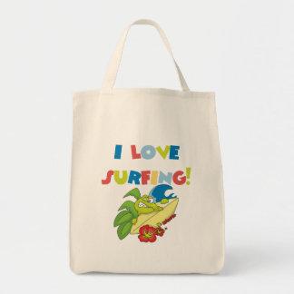I Love Surfing Bag