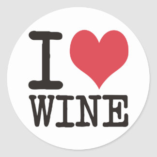 I Love Sushi - Wine - Tea Products & Designs! Classic Round Sticker