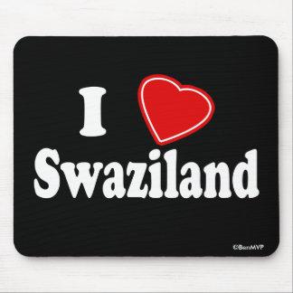 I Love Swaziland Mousepads