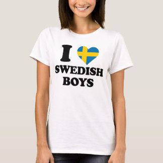 I love Swedish Boys T-Shirt