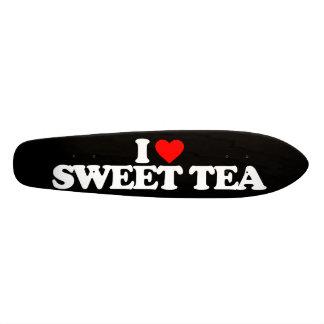I LOVE SWEET TEA 21.6 CM SKATEBOARD DECK