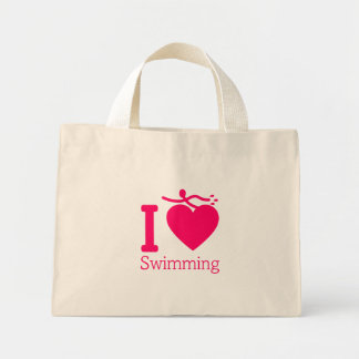 I Love Swimming Bag