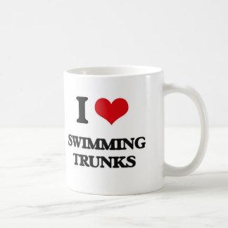 I love Swimming Trunks Coffee Mug