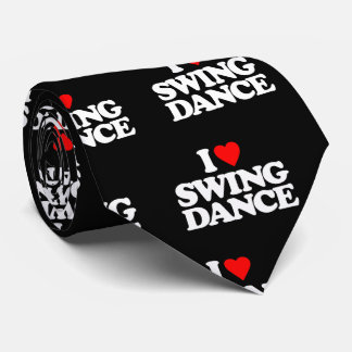 I LOVE SWING DANCE TIE