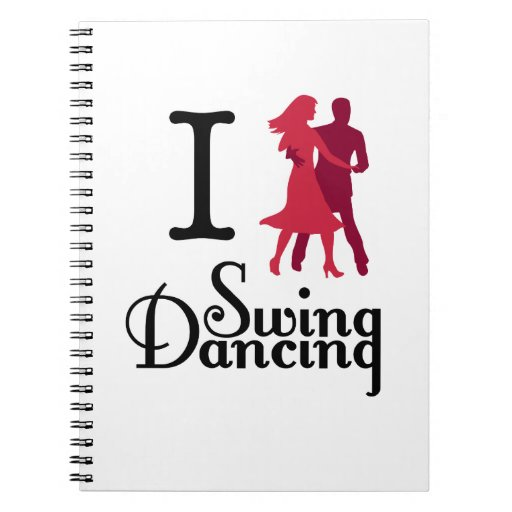 I Love Swing Dancing Note Books