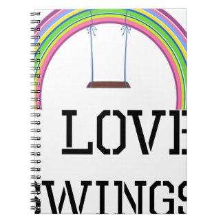 I Love Swings Notebook