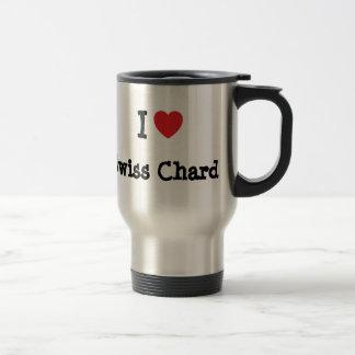 I love Swiss Chard heart T-Shirt Coffee Mugs