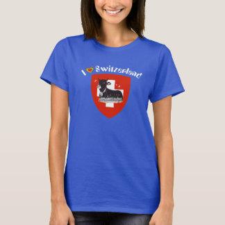 I love Switzerland T-shirt