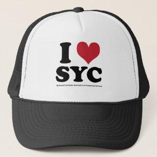 I LOVE SYC TRUCKER HAT