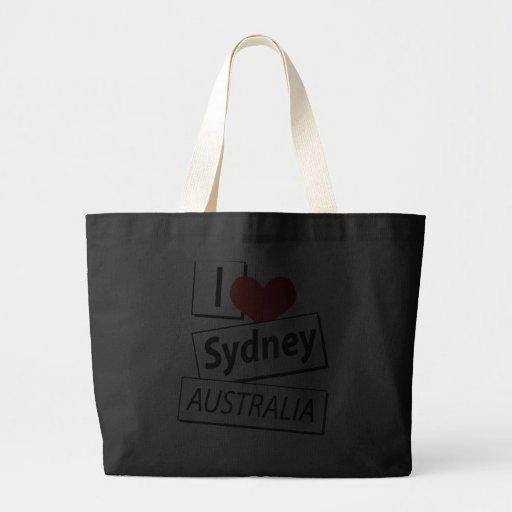 I Love Sydney Australia Bag