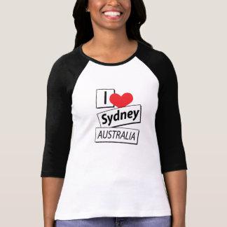 I Love Sydney Australia Tee Shirts