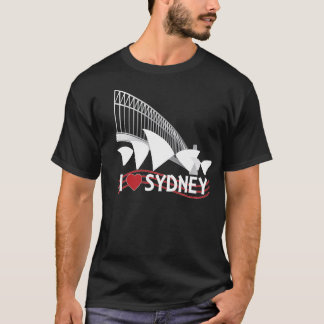 I LOVE SYDNEY BLACK T-Shirt