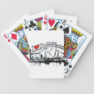 I love Sydney Poker Cards