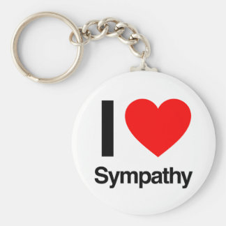 i love sympathy keychains