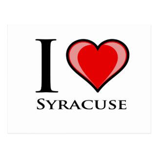 I Love Syracuse Postcard