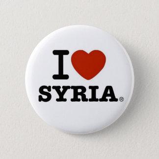 I Love Syria 6 Cm Round Badge