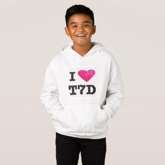 """I love T7d"" Sweatshirt"