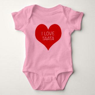 I LOVE TAATA BABY BODYSUIT