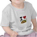 I Love Taco Baby Shirt