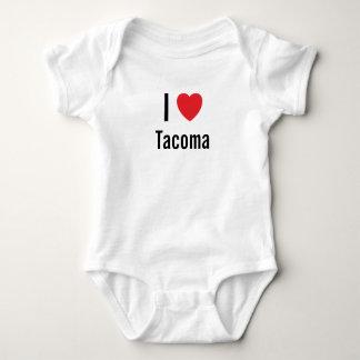 I love Tacoma Baby Jumper Baby Bodysuit