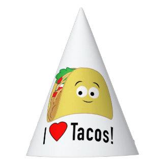I Love Tacos Birthday Hat