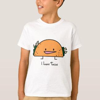 I Love Tacos - Kids T-Shirt