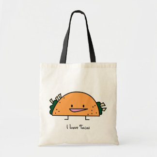 I Love Tacos Reusable Bag