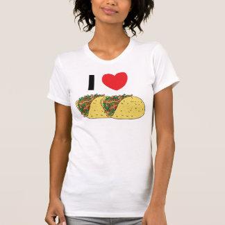 I Love Tacos Woman's Tee Shirts
