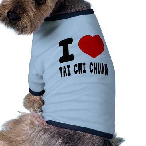 I Love Tai Chi Chuan Pet Clothing