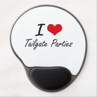 I love Tailgate Parties Gel Mouse Pad